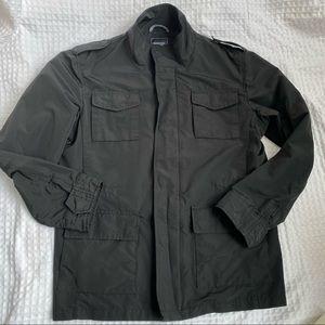 Frank and Oak Black Aurora Military Jacket